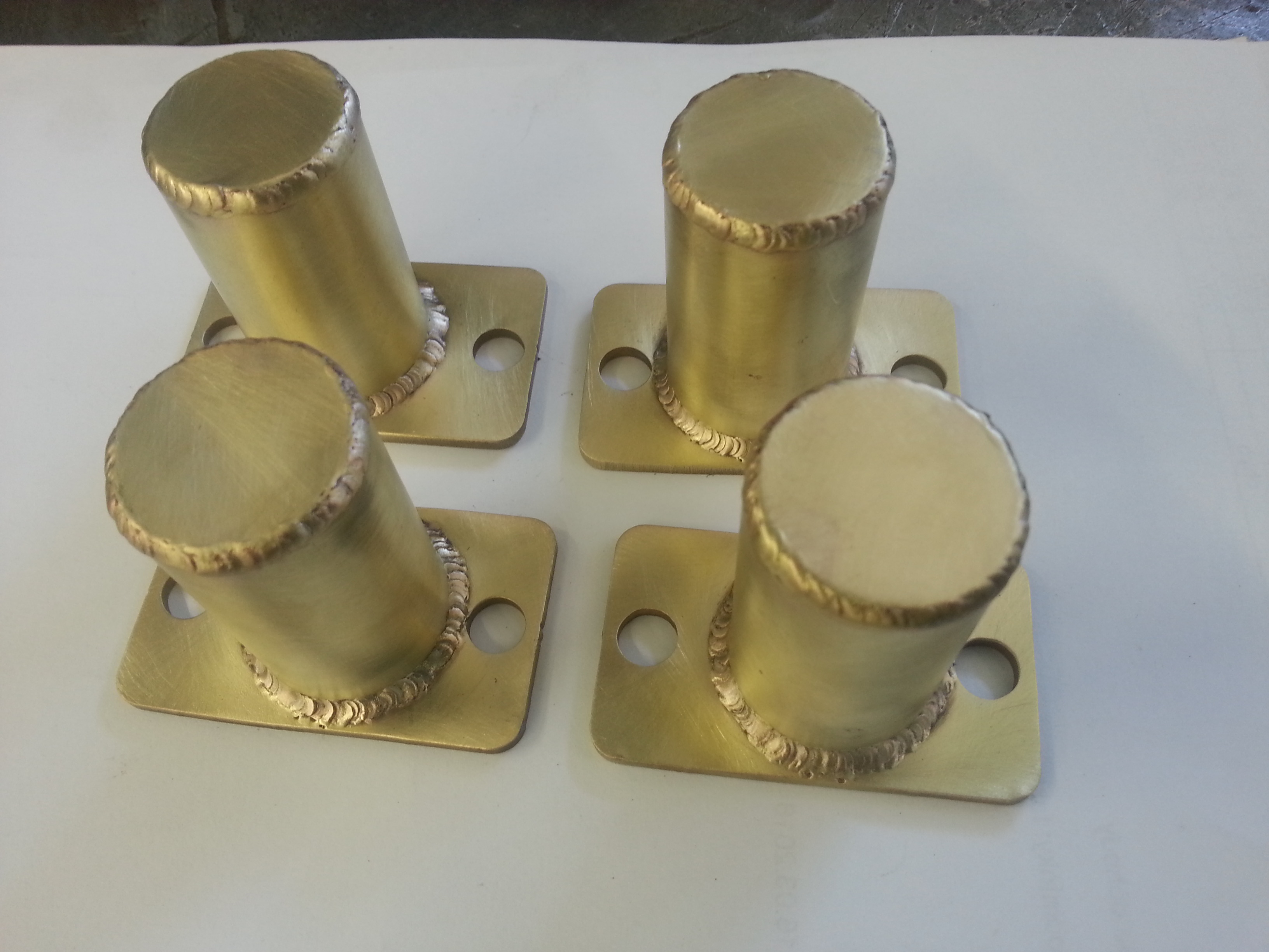 Manufacture from brass